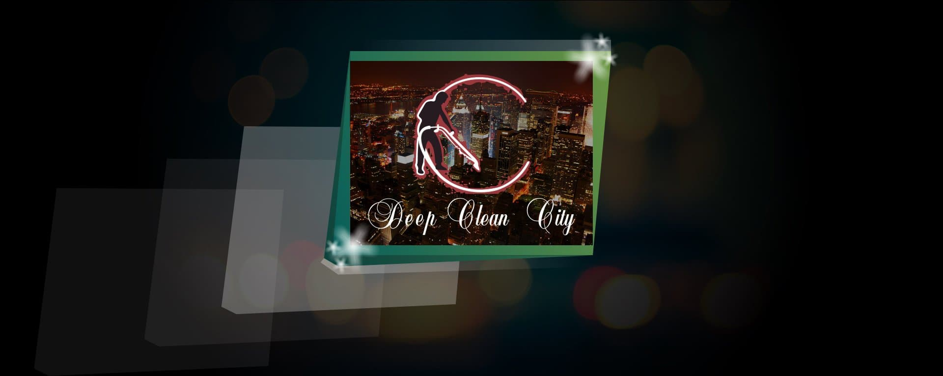 Deep Clean City Logo